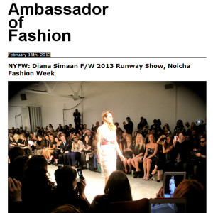 Diana SImaan-Ambassador-of-fashion